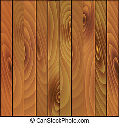 Vector brown wooden planks background