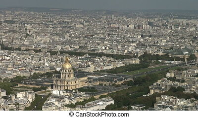 panoramic view of Paris