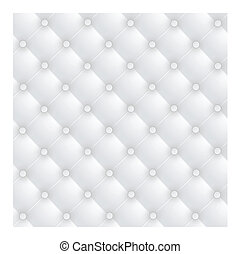 White luxury leather upholstery background