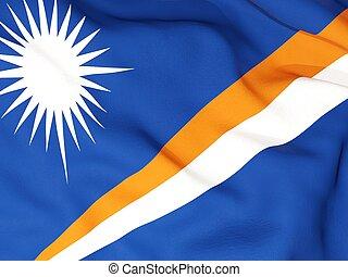 drapeau, MARSHALL, îles