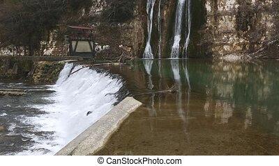 River Valsarine Waterfall