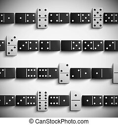 Domino background - Game domino background Eps 10