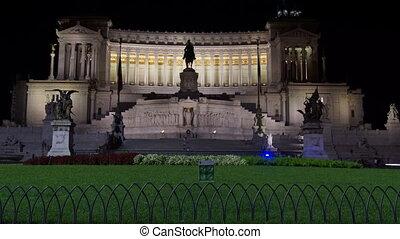 Victor Emmanuel Monument, Rome - Victor Emmanuel Monument at...