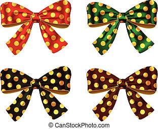 Textured bows