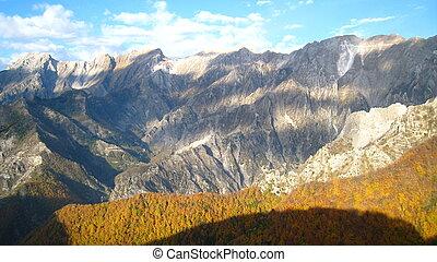 Apuane Alps National Park - Italy - Alpi Apuane - Apuane...