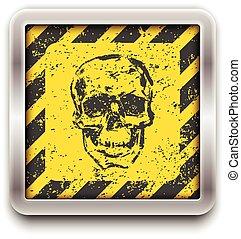 Skull. Vector illustration. eps10