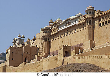 Imposing Amber Fort
