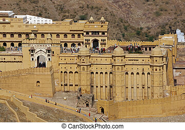 Entrance to Amber Fort