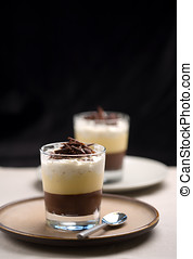 Chocolate trifle dessert - Delicious chocolate trifle...