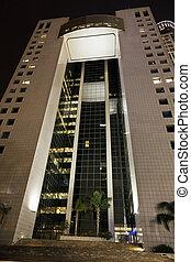 建築物, 角度, 低, 辦公室