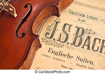 German violin of the nineteenth century. - Notes of Johann...