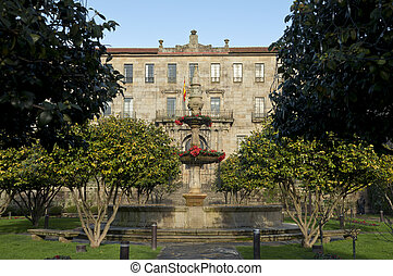 Tax Office of Pontevedra, Galicia, Spain This building was...