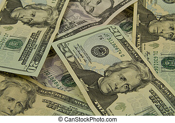 American Currency - Stack of American Currency