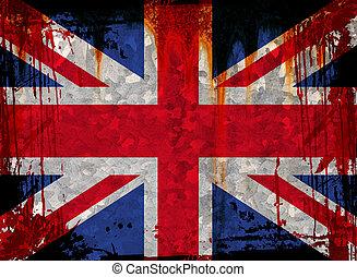 Grunge Union flag