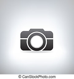 stylized photo camera