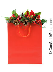 Christmas Shopping Bag - Christmas Decoration and Shopping...