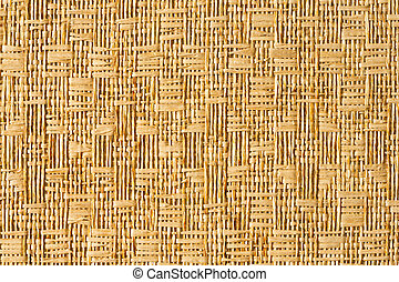 Straw mat - Close up straw matt texture