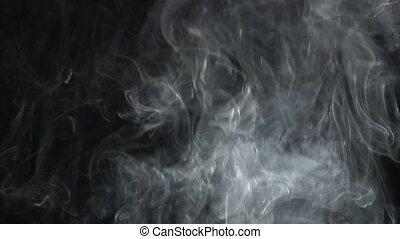 hairy smoke up - hairy smoke moves up. Real shots, no CGI or...