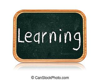 learning on blackboard banner