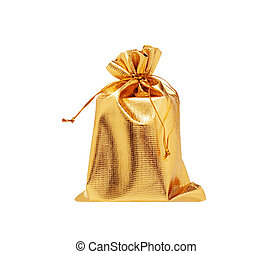 Sack isolated on white background