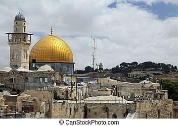 Dome of the Rock - The Dome Of The Rock in Jerusalem as seen...