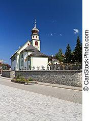 small church in San Cassiano