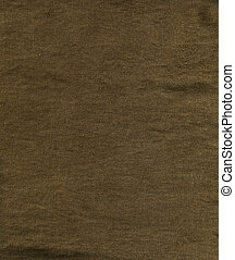Linen Fabric Texture - Brown - High resolution close up of...