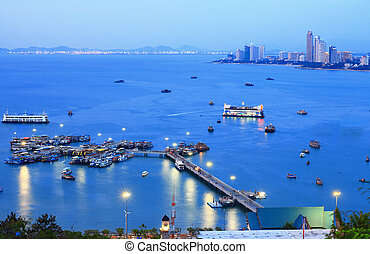 Pattaya Harbor Thailand