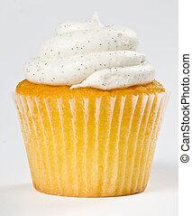 Vanilla Bean Cupcake - Delicious Vanilla Bean Cupcake with...