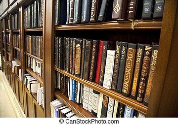 santo, judío, biblioteca