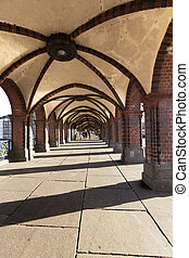 Oberbaumbrücke Bridge Arches & Pavement Berlin - Berlin,...