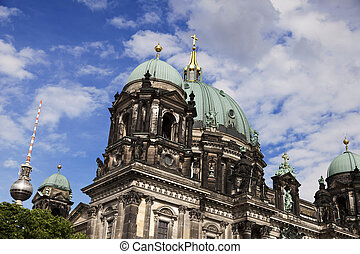 Berliner Dom and Fernsehturm - The famous Beliner Dom...