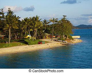 Daydream Island - An afternoon shot of Daydream Island on...