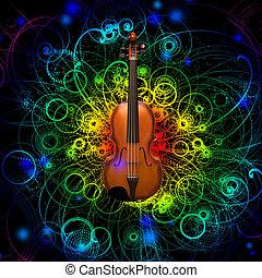 violín, diseño