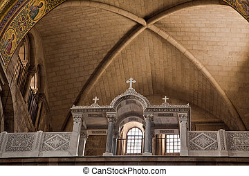 Detail of 'Church of the Holy Sepulchre'