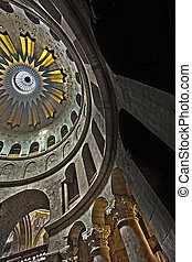 Sepulchre Rotunda - The spectacular Dome of the Rotunda just...