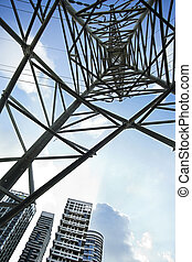 Pylon Abstract & Apartment Buildings