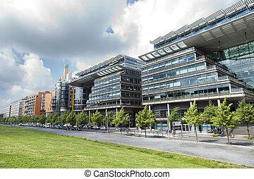Linkstrasse, Potsdamer Platz, Berlin - Berlin, Germany -...