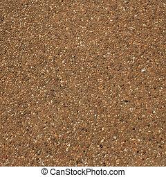 Small rocks floor