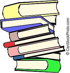 Group of different books