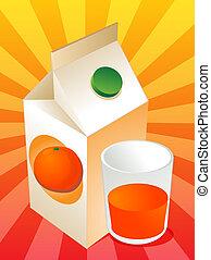 pomarańcza, Sok