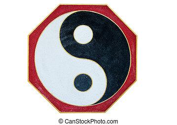 Chinese Yin Yang sign and symbol