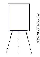 flip-chart on white background