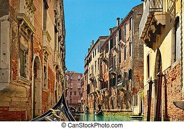 Beautiful water street - Venice, Italy - Beautiful water...
