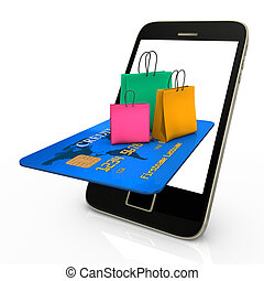 Mobile Shopping Bags