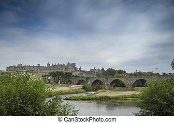Carcassonne - The beautiful fortified town of Carcassonne...