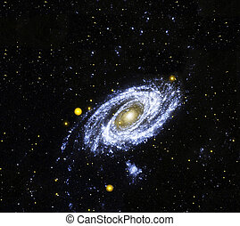 GalaxyElements of this image furnished by NASA