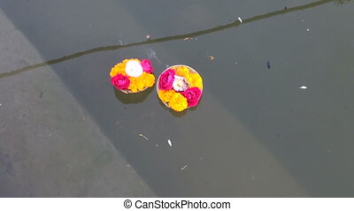 hinduism ritual puja flowers