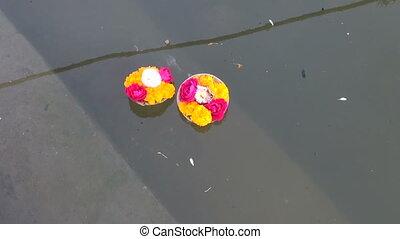 hinduism ritual puja flowers - hinduism religious ritual...