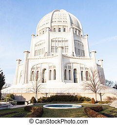 Bahá'í House of Worship - Bahá'í Temple in Wilmette,...